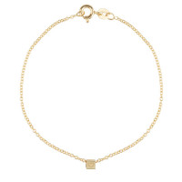 Cube, 1, inclusief armband, 14kt goud, Just Franky