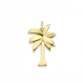 gouden-bedel-charm-palm-glad_jf-charm-palm_justfranky-1007_memento-aan-jou