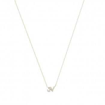 gouden-letter-2-diamant-wit-geelgoud-collier_jf-justdiamond-initial-diamant-wit-collier_justfranky-1022_memento-aan-jou
