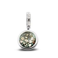 Zilveren bedels / charms met oog voor armband