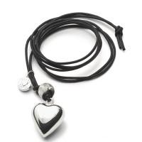Zwangerschapsketting, Proud Mama hart, 4 varianten
