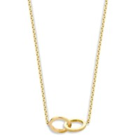 Iconic, Twee ringen, incl.collier 14 goud, Just Franky