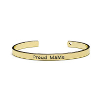 Bracelet Bangle, Proud Mama, 3 kleuren