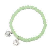 Bracelet Charm Lotus, Proud Mama, 2 kleuren