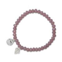 Bracelet Charm Diamant, Proud Mama, 2 kleuren